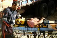 Homem é encontrado baleado nos fundos de uma residencia na Avenida Galileia no Madre Maria de Jesus