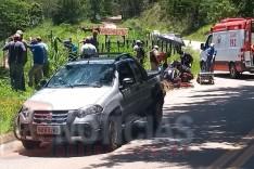 Homem em bicicleta morre atropelado na MGC-120 em Santa Maria de Itabira