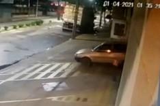 Bandidos destroem fachada de farmácia para cometer roubo em João Monlevade