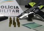 MILITARES DA PRV PRENDEM DOIS SUSPEITOS DO PEDREIRA COM PISTOLA 9 MILÍMETROS DENTRO DE CARRO NO BAIRRO CHAPADA