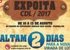 Expoita 2017: Terceiro lote de ingressos começa ser vendido na quinta