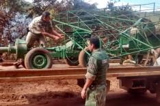 Policia Militar de Barão de Cocais prende dois e desarticula exploração em garimpo ilegal