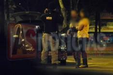 Mulher é detida no Centro Itabira suspeita de estar dirigido embriagada e envolver em acidente