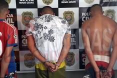 PC prende suspeitos de guerra entre Água Fresca e Nova Vista pela disputa por trafico de drogas em Itabira