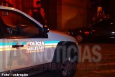 Veículo é recuperado pela Policia Militar de Itabira minutos após ser furtado