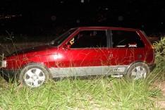 Militares em patrulhamento preventivo localizam Fiat Uno tomado de assalto no Loteamento Vale do Sol