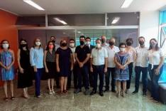 Nozinho organiza primeira reunião com secretários em São Gonçalo do Rio Abaixo