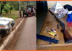 PM prende dois homens com arma de fogo e ave silvestre abatida na rodovia MG-262 Barão de Cocais