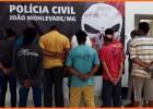 Policia Civil prende 10 pessoas em João Monlevade