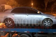 Denuncia anônima ajuda Rodoviários a localizar Corolla levado durante assalto a residencia em Itabira