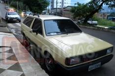 No mesmo local, Parati furtada no bairro São Pedro é localizada na mesma Avenida em Itabira