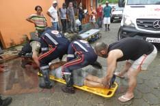 Homem é agredido com pauladas depois de pedir pinga a frequentador de um bar no bairro Juca Rosa