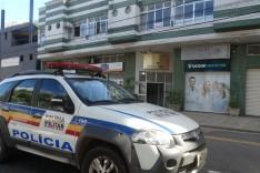 Lojas foram arrombadas em prédio no Centro de Itabira durante madrugada
