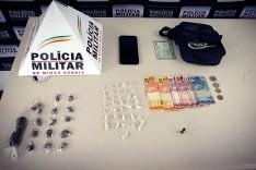 Menor é apreendido com drogas no Bairro São João, em João Monlevade