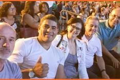 Ronaldo Magalhães prestigia festival estudantil de música na Concha Acústica