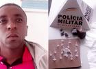 PM PRENDE HOMEM ACUSADO POR TRAFICO DE DROGAS NO BAIRRO JUCA ROSA
