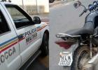 DENUNCIA AJUDA PM A RECUPERAR MAIS UMA MOTOCICLETA FURTADA EM SANTO ANTÔNIO NO BAIRRO GABIROBA