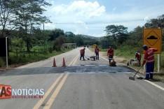 DEER conclui instalações de redutores de velocidade na MGC-120 no final do bairro Praia