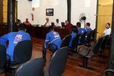 Vereadores se reúnem com representantes do GAVE de Nova Era