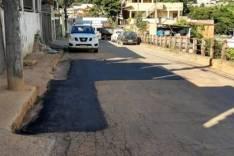 Estiagem – Prefeitura inicia operação tapa-buraco