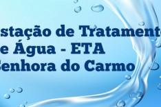 Água de qualidade – Prefeitura inaugura nova ETA em Senhora do Carmo