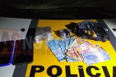 Rodoviários (GTR) prende dois suspeito e drogas na rodovia MGC-120 Estrada de Nova Era