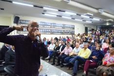 """""""Vale e Prefeitura também são responsáveis pela geração de emprego em nossa cidade"""", diz Paulo Soares"""