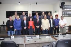 Presidente da Petrocity Portos apresenta projeto da nova Estrada de Ferro Minas - Espírito Santo em Itabira