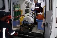 Depois de uma colisão frontal entre duas motocicletas próximo dos Motéis casal foge na Ribeira de Cima