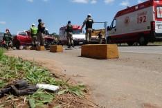 Quatro mortos após homicídio seguido de acidente na Rua Humberto Campos no bairro João XXIII em Itabira