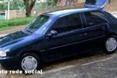 Denuncia anônima ajuda PM a localizar Gol furtado abandonado no bairro São Marcos