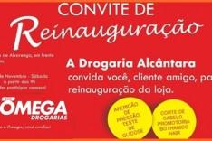 A Drogaria Alcântara agora é Rede ÔMEGA Drogarias