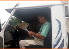 Caminhoneiro passa dificuldade para fazer entrega de medicamento no HNSD