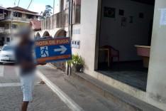Suspeito de mudar placas de rota de fuga e localizado e detido em São Gonçalo do Rio Abaixo