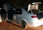 Policia Militar localiza e recupera Fiat Siena roubado em Betim abandonado na localidade do Rio de Peixe