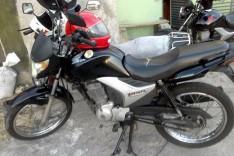 Moto-taxista tem motocicleta roubada por dois bandidos armados na MGC-120 próximo a Mina Cauê em Itabira