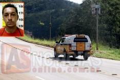 Policia Rodoviária cumpre mandado e prende suspeito de roubo no Boa Esperança