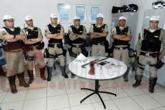 Rodoviários intensificaram caça a criminosos e prenderam suspeitos de roubo com arma e pertences em Santa Maria de Itabira