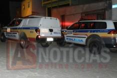 PM registra mais disparos de arma de fogo contra residencias no bairro Juca Rosa em Itabira
