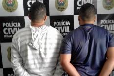 Operação conjunta da PC e PM prenderam em Itabira, os suspeitos de assalto a lotérica de Ferros