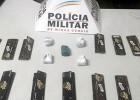 APÓS INTENSO RASTREAMENTO PM DE FERROS APREENDE MENOR COM DROGAS