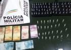PM DE FERROS REALIZA OPERAÇÃO ANTIDROGAS E PRENDE USUÁRIOS E TRAFICANTES