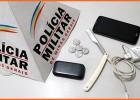 PM recupera celular roubado minutos após o crime prende um e apreende menor no São Cristóvão