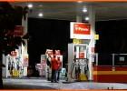Bandidos em moto Honda CB-300 branca assaltaram o posto de combustível do bairro Amazonas
