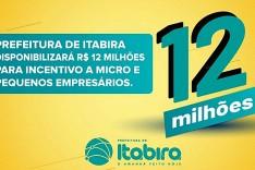 Prefeitura de Itabira disponibilizará R$ 12 milhões para incentivo a micro e pequenos empresários