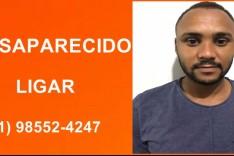 Thiago Dias está desaparecido e família pede ajuda para localiza-lo