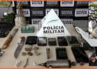 Operação conjunta da PM e PC termina com prisões e apreensões no Belmonte