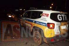Rodoviários deteram dois indivíduos que fugiram de ordem de parada e acabaram batendo veiculo em Itabira