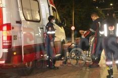 Jovem leva facada na coxa devido barulho de festa em frente casa do agressor no bairro Pedreira