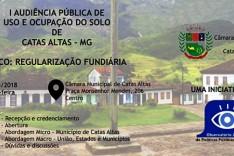 I audiência Pública de uso e ocupação do solo de Catas Altas